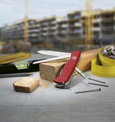 Нож Victorinox Rucksack, 111 мм, 12 функций, красный* 0.8863