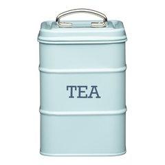 Ёмкость для хранения чая Living Nostalgia blue Kitchen Craft LNTEABLU