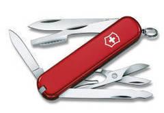 Нож Victorinox Executive, 74 мм, 10 функций, красный 0.6603