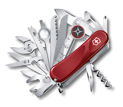 Нож Victorinox Evolution S54, 85 мм, 31 функция, красный 2.5393.SE