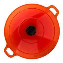 Кастрюля чугунная 28см (6,3л) CHASSEUR Orange (цвет: оранжевый) арт. 372807