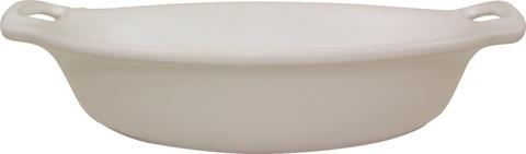 Форма овальная матовая 34,5 см Appolia Harmonie Matt CREAM 223234508