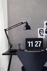 Лампа настольная Job, черная матовая Frandsen 21486501101