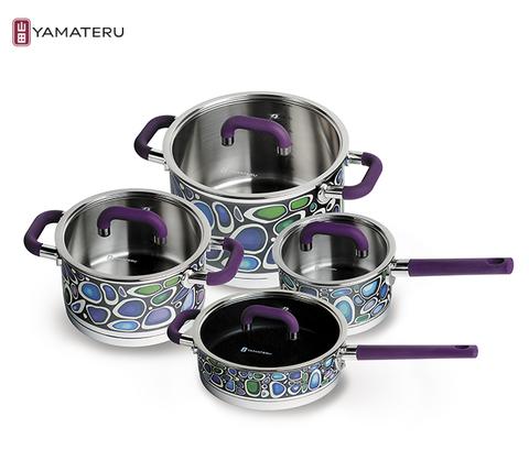 Набор посуды 8 предметов Yamateru Takara ST YTASET8ST