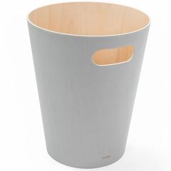 Корзина для мусора Woodrow серая Umbra 082780-918