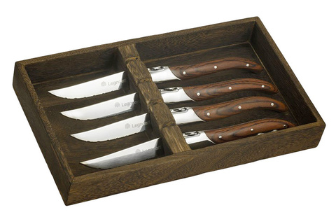 Набор из 4-х ножей для стейка Legnoart FASSONA 56141