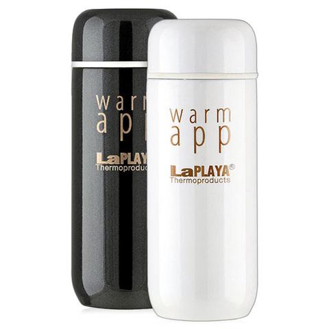 Набор термосов La Playa WarmApp (0,2 литра) белый/черный