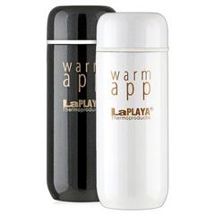 Набор термосов La Playa WarmApp (0,2 литра) белый/черный 560033