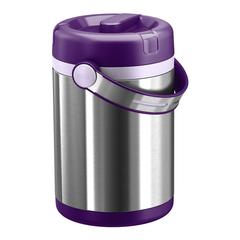 Термос для еды Emsa Mobility (1,7 литра) фиолетовый/стальной 509234