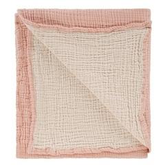 Одеяло из жатого хлопка цвета пыльной розы из коллекции Essential 90x120 см Tkano TK20-KIDS-BLK0003