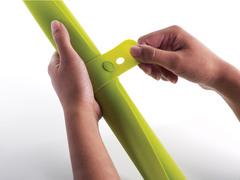 Коврик для теста с мерными делениями Joseph Joseph roll-up™ зеленый 20031