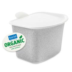 Контейнер для пищевых отходов BIBO Organic серый Koziol 5605670