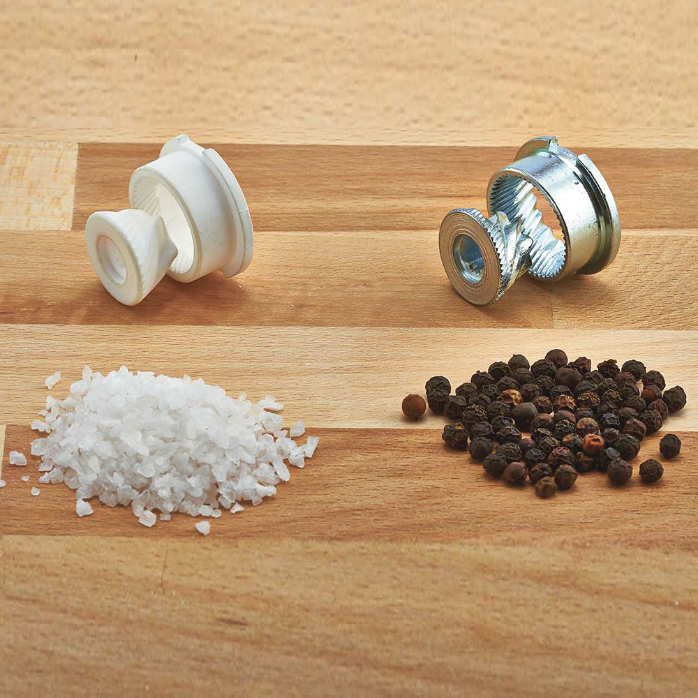 мельница для соли деревянная 22 см Bisetti Firenze 6250mslc