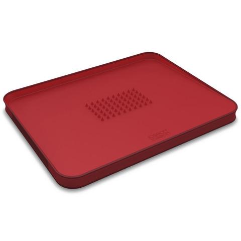 Доска разделочная для мяса Joseph Joseph Cut&Carve™ Plus двухсторонняя большая красная 60004