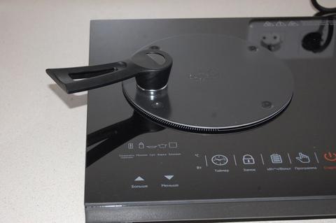 Диск-переходник (адаптер) для индукционной плиты 20 см (магнитная ручка) Canduct CAN - D20