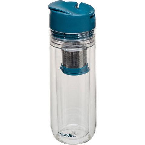 Бутылка для заваривания Aladdin Tea Infuser  0.35L синяя