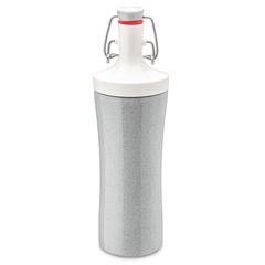 Бутылка для воды PLOPP TO GO Organic 425 мл серая Koziol 3796316