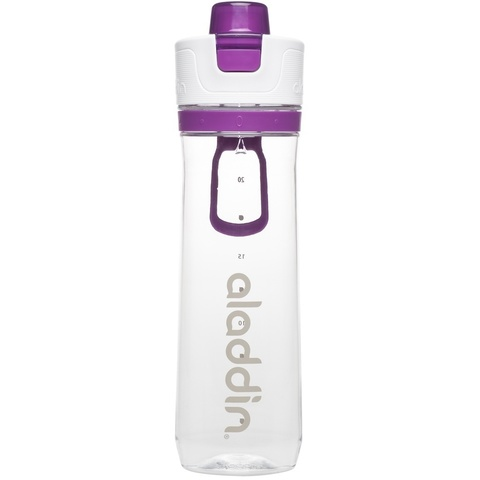 Бутылка для воды Aladdin Active Hydration 0.8L фиолетовая