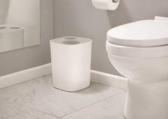 Контейнер мусорный Split™ для ванной комнаты, бело-серый Joseph Joseph 70514