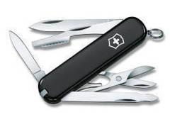 Нож Victorinox Executive, 74 мм, 10 функций, черный 0.6603.3