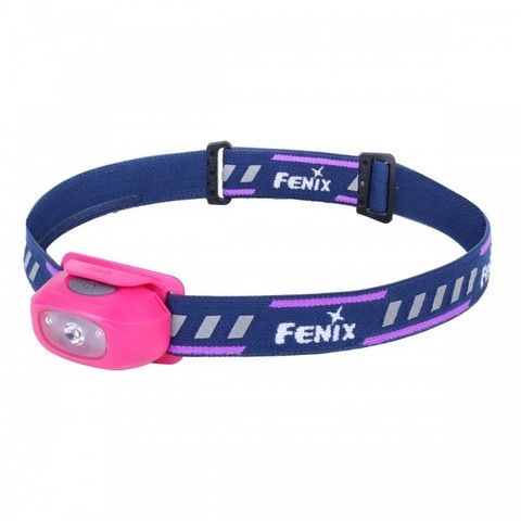 Фонарь светодиодный налобный Fenix HL16 розовый, 70 лм, 1-АА