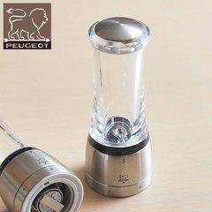 Мельница  Peugeot Daman для соли, акрил/сталь, 21 см 25458