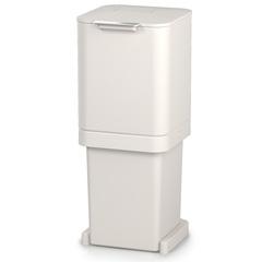 Контейнер для мусора с двумя баками Totem Pop 40 л белый Joseph Joseph 30092
