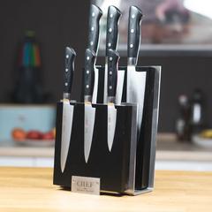 Комплект из 6 ножей Samura PRO-S и подставки