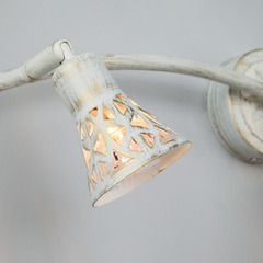 Настенный светильник Eurosvet Alaska 20027/3 белый с золотом