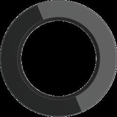 Рамка на 1 пост (Черный) WL21-frame-01 Werkel