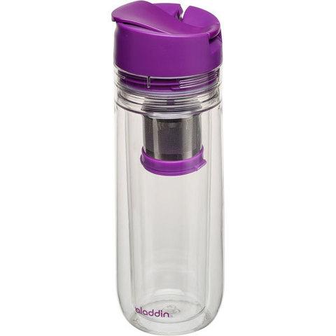 Бутылка для заваривания Aladdin Tea Infuser  0.35L фиолетовая