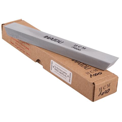 Камень для заточки #2600 керамика+карбид кремния HAIDU HCM1000