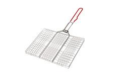 Решетка-гриль 34х22 мелкая Diolex (сталь с хромированным покрытием) DX-G0001