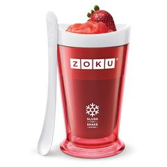 Форма для холодных десертов Zoku Sluch & Shake красная ZK113-RD