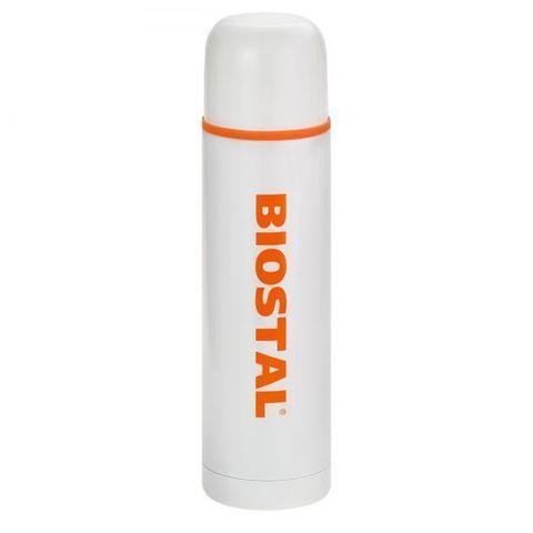 Термос Biostal Flër (1 литр) белый