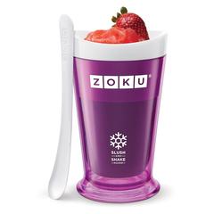 Форма для холодных десертов Zoku Sluch & Shake фиолетовая ZK113-PU
