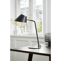 Лампа настольная Office, D18 см, черная матовая Frandsen 230265011