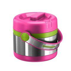 Термос для еды Emsa Mobility Kids (0,65 литра) розовый/зеленый 515861