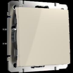 Перекрестный переключатель одноклавишный (слоновая кость) WL03-SW-1G-С-ivory Werkel