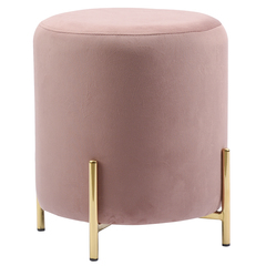 Пуф Berg Jerome, велюр, розовый BEPO-JEG06223
