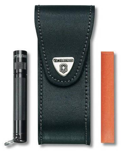 Чехол кожаный Victorinox, черный, для Services pocket tools 111 мм, Pocket Multi Tools lock-blade MV-4.0523.32