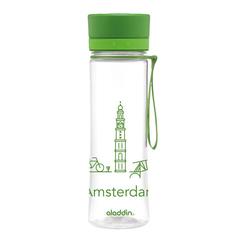 Бутылка для воды Aladdin Aveo Amsterdam  (0,6 литра) зеленая 10-01102-083