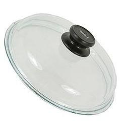 Крышка стеклянная Risoli с жаропрочной ручкой и пароотводом 28см 00200S/28000
