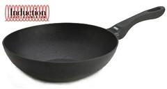 Литая сковорода-ВОК Risoli Induction 28см 0080IN/28P00