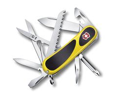 Нож Victorinox EvoGrip 18, 85 мм, 15 функций, желтый 2.4913.C8