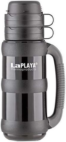 Термос LaPlaya Traditional 35-180 (1,8 литра) со стеклянной колбой, черный 560012