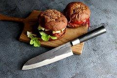 Нож кухонный Сантоку 182 мм Samura SUPER 5 SP5-0095C/Y