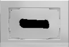 Рамка для двойной розетки (серебряный) WL04-Frame-01-DBL Werkel
