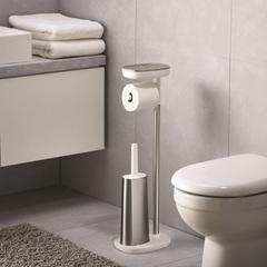 Набор держатель для туалетной бумаги с подносом EasyStore + ёршик для унитаза Flex™ Joseph Joseph 70519