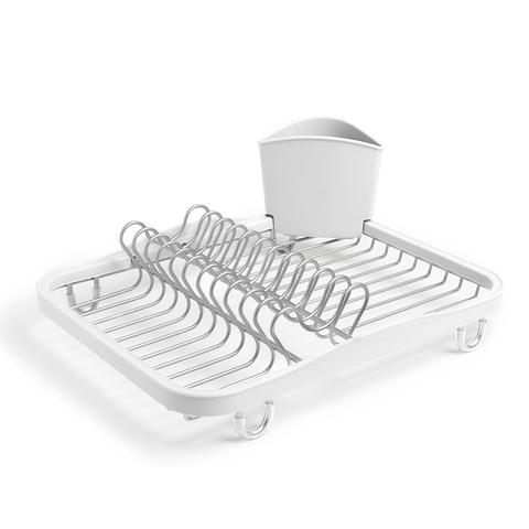 Сушилка для посуды Umbra SINKIN белый/никель 330065-670